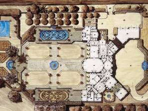 Chateau V – Rendering – Plan