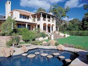 Shangri-La – Pool/Rear Elevation