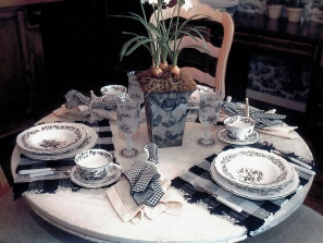 Staging – Breakfast Table