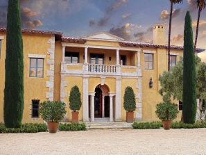 Villa di Toscana – Front Elevation