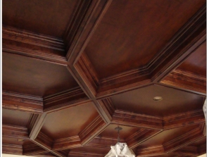 In Progress – Villa di Toscana – Dining Ceiling