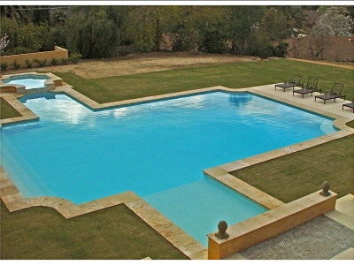 In Progress – Villa di Toscana – Pool