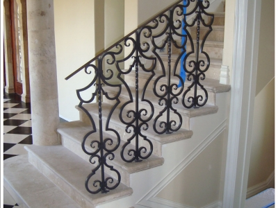 In Progress – Villa di Toscana – Stair