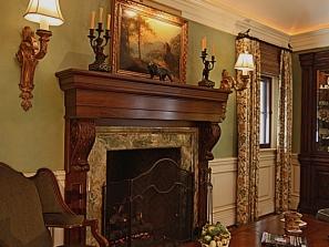 Villa Zeffiro – Upper Fireplace