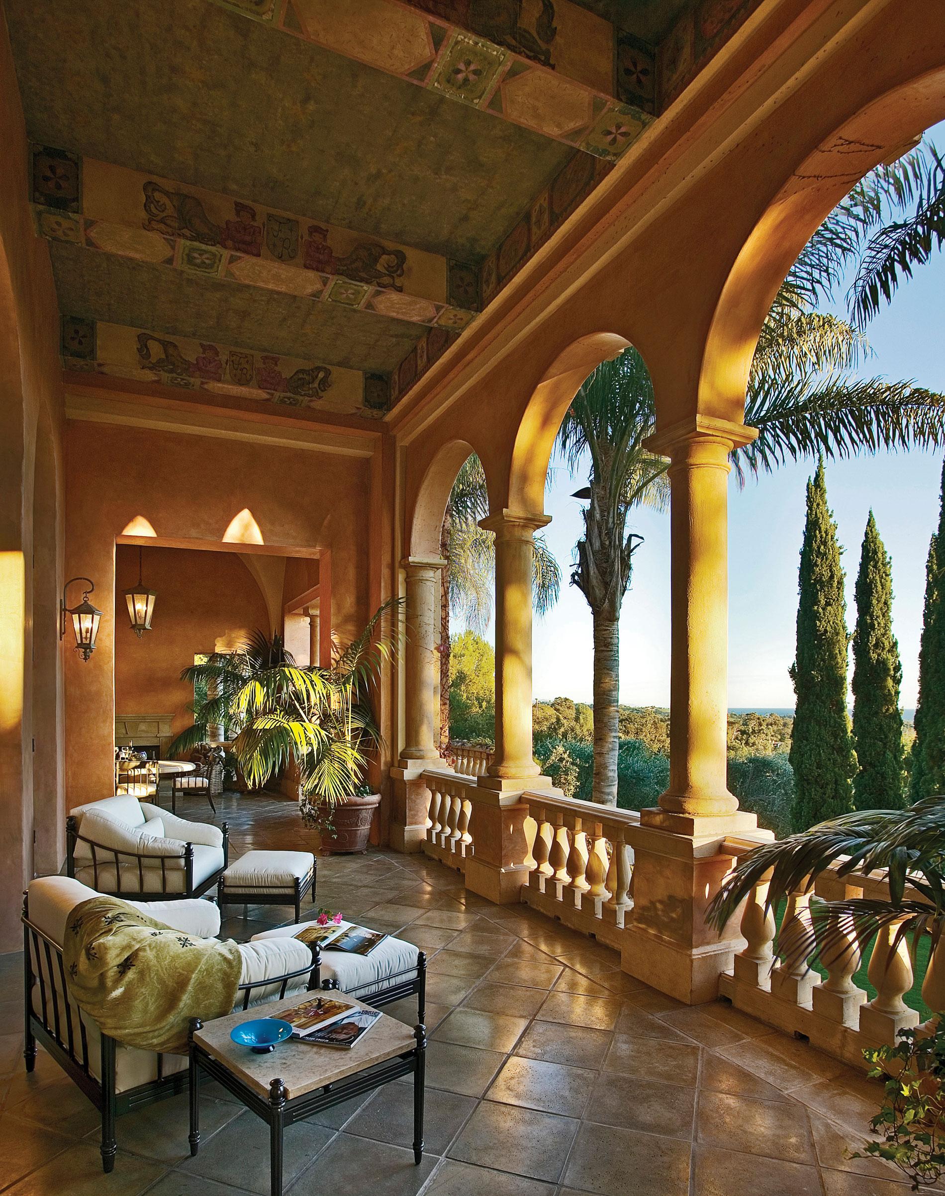 Il paradiso bryant design studio for Garden loggia designs