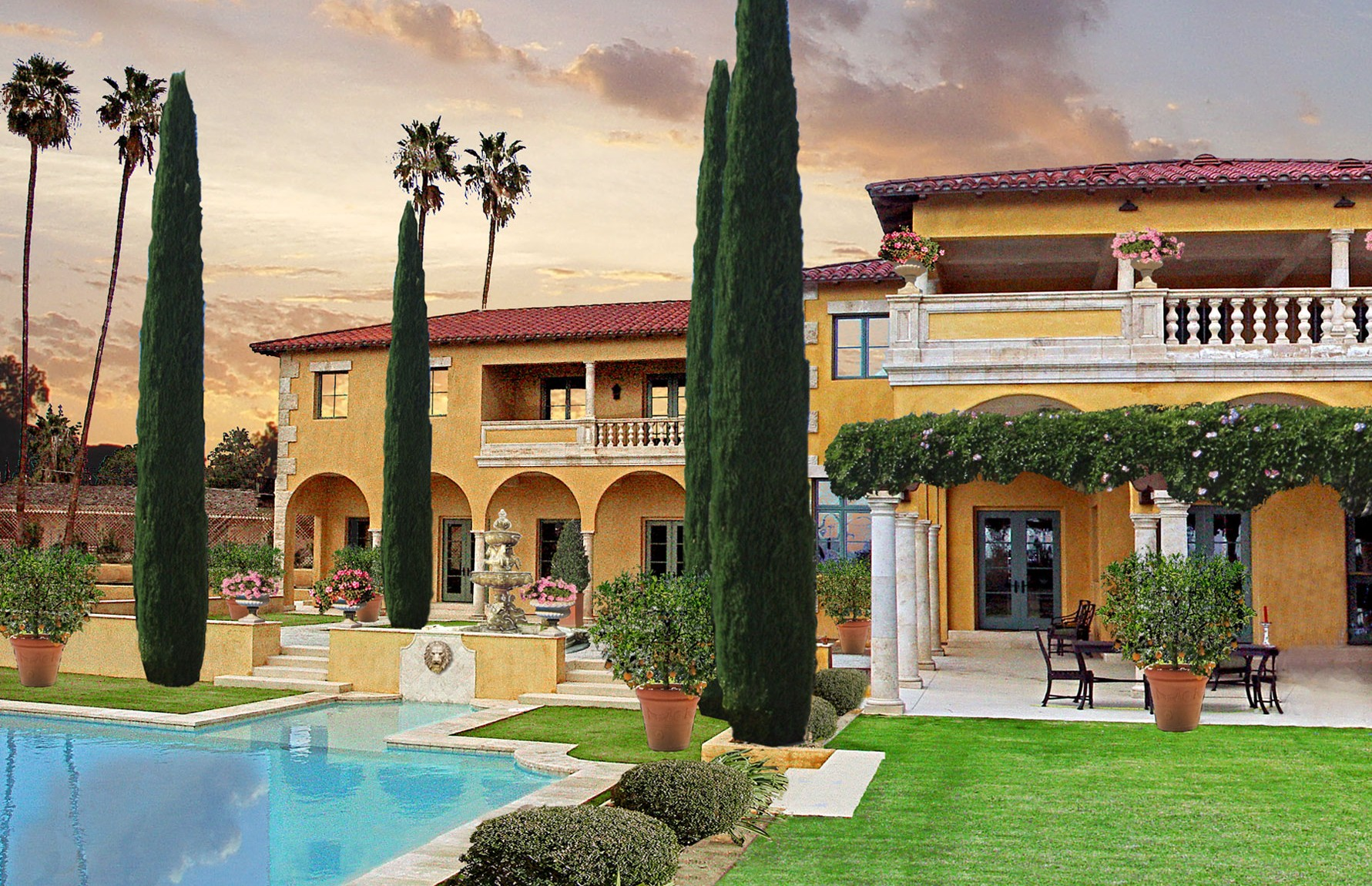 Villa Di Toscana Bryant Design Studio